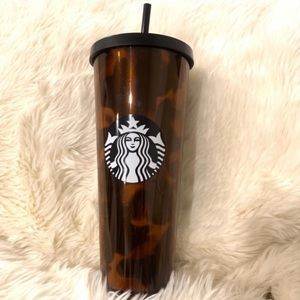 Starbucks Tortoise Tumbler Cheetah Leopard Venti